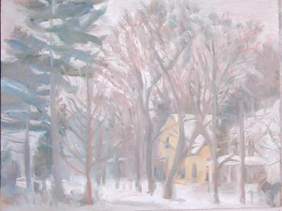 1978 Winter Street_12x15-75_oil on panel_7170.