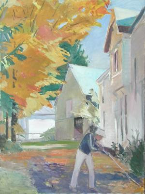 1988 Raking_48x36 in_oil on canvas_641