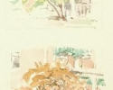 1992 Corner Hydrangeas_6-5x4 in_wc_1065