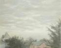 1985 Evening Sky_23-5x16-5 in_pastel_413