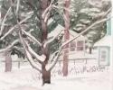 1978 Burdened With Snow_6-5x7_wc_7110